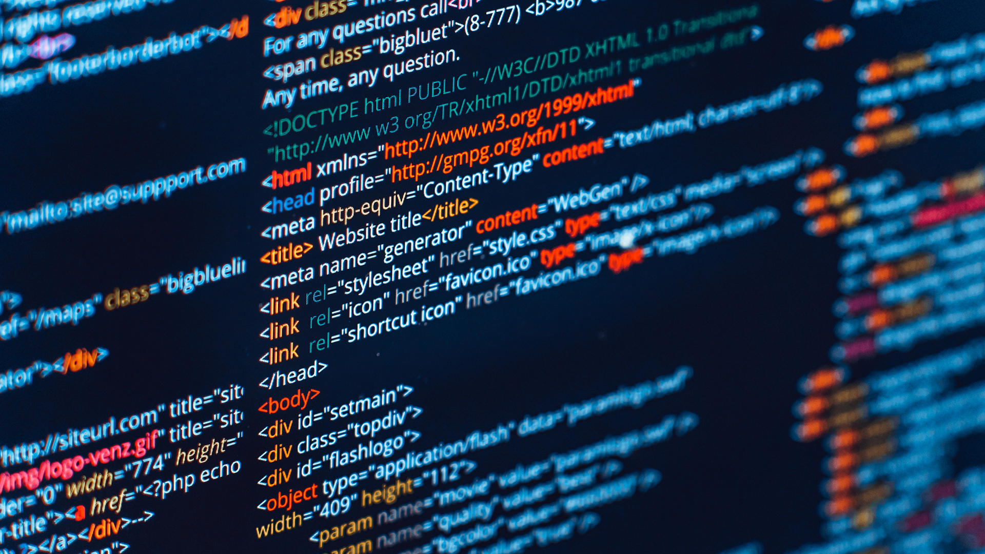 Introduction to HTML, CSS & JavaScript Programming | Professional ...