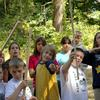 Group of kids at a camp